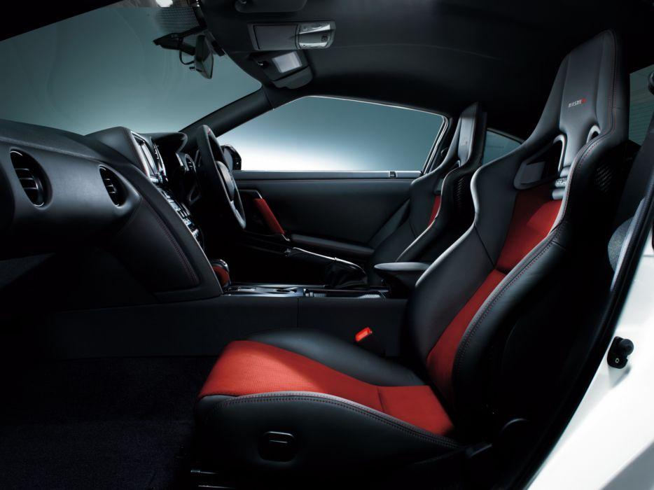 2014 Nismo Nissan GT-R R35 supercar interior    g wallpaper