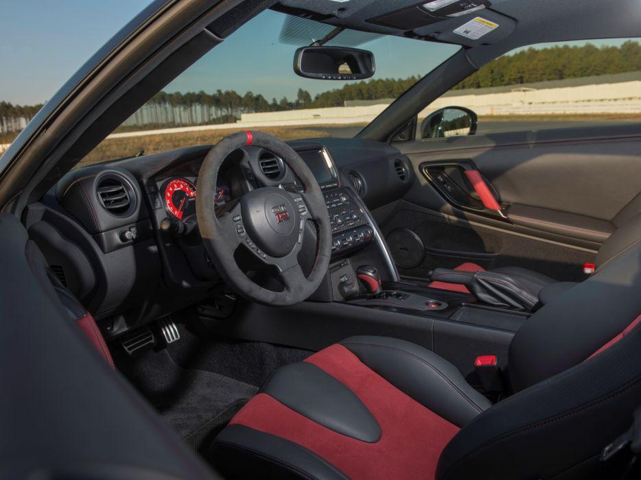 2014 Nismo Nissan GT-R R35 supercar interior    f wallpaper