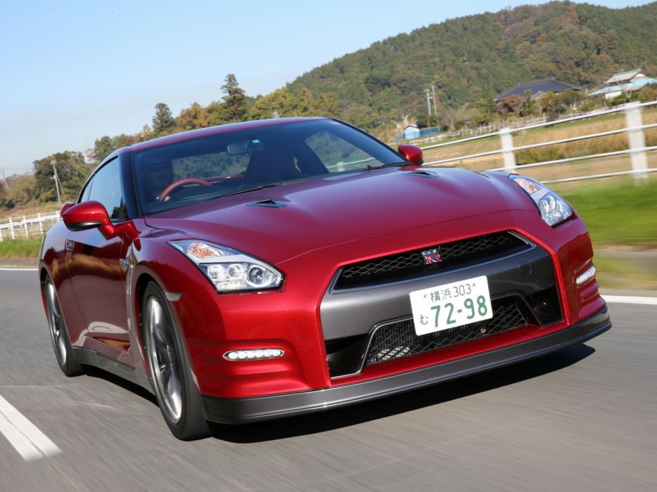 2014 Nissan GT-R JP-spec (R35) supercar  f wallpaper
