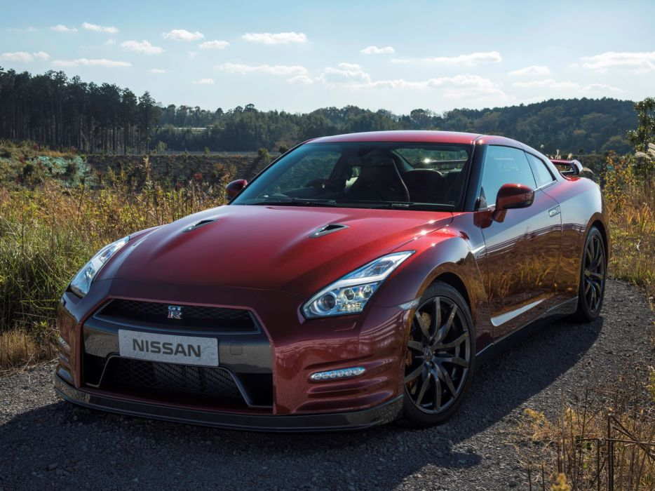 2014 Nissan GT-R JP-spec (R35) supercar         g wallpaper