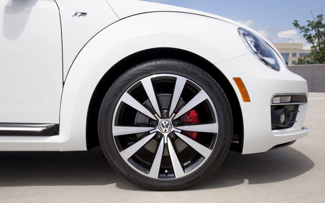 2014 Volkswagen Beetle Convertible wheel     g wallpaper