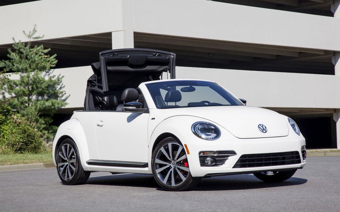 2014 Volkswagen Beetle Convertible   f wallpaper
