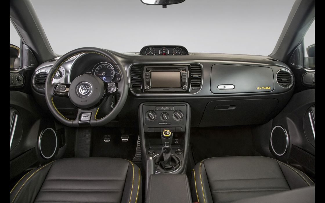2014 Volkswagen Beetle GSR interior      g wallpaper