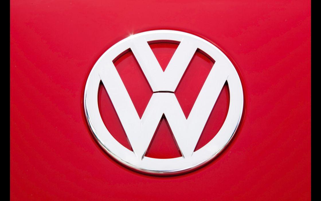 2014 Volkswagen Beetle logo poster      g wallpaper