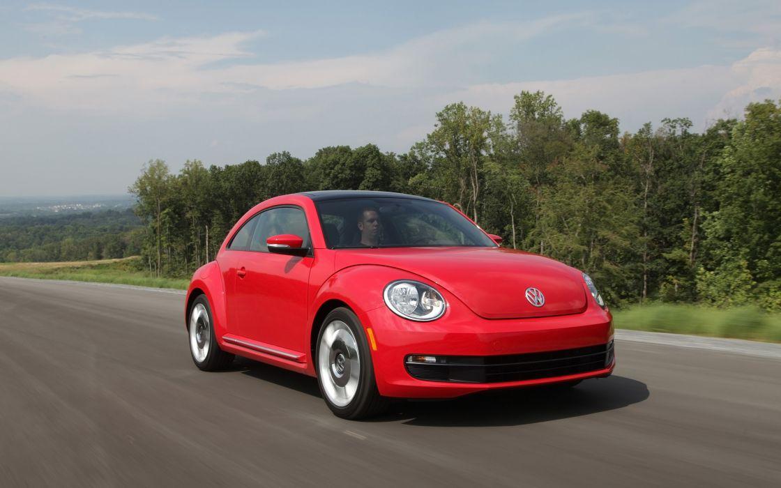 2014 Volkswagen Beetle v wallpaper