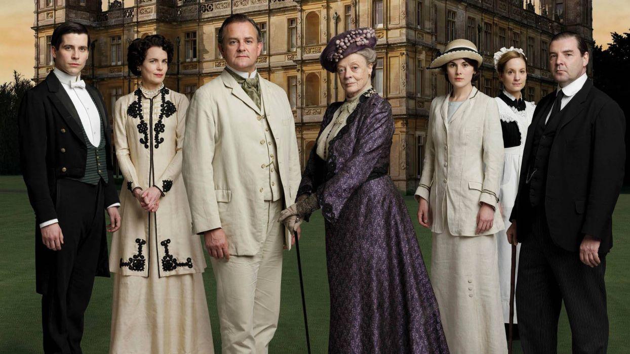 DOWNTON ABBEY british period drama television  e wallpaper