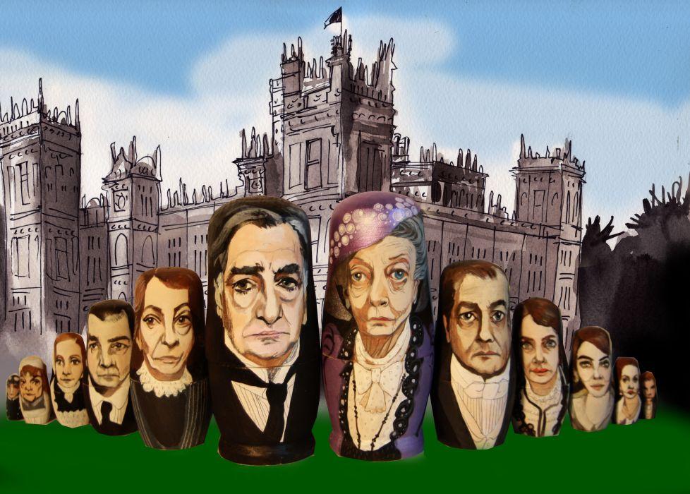 DOWNTON ABBEY british period drama television  eq wallpaper