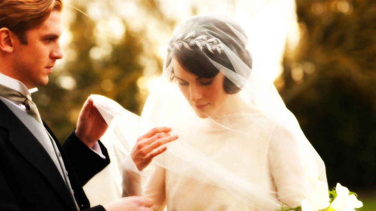 DOWNTON ABBEY british period drama television bride mood  f wallpaper