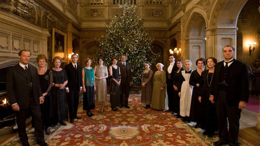 DOWNTON ABBEY british period drama television christmas f wallpaper