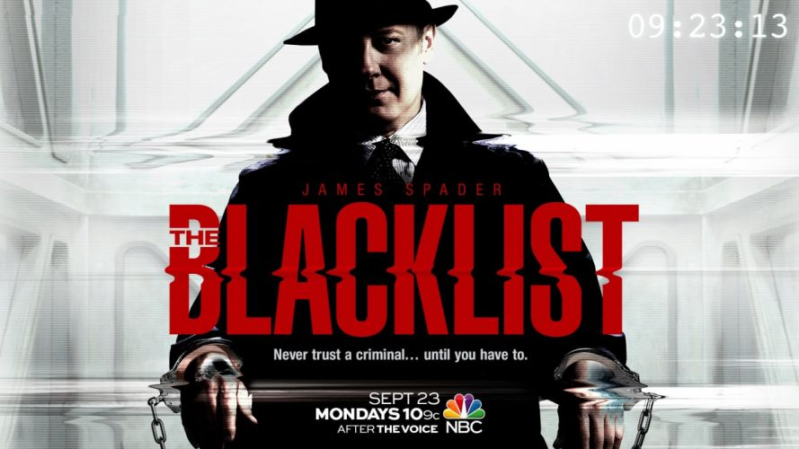 THE BLACKLIST crime drama television poster h wallpaper