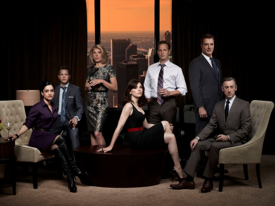 THE-GOOD-WIFE legal drama crime television good wife  e wallpaper