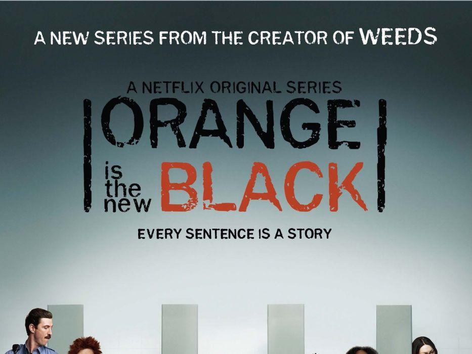 ORANGE-IS-THE-NEW-BLACK comedy drama orange new black poster  g wallpaper