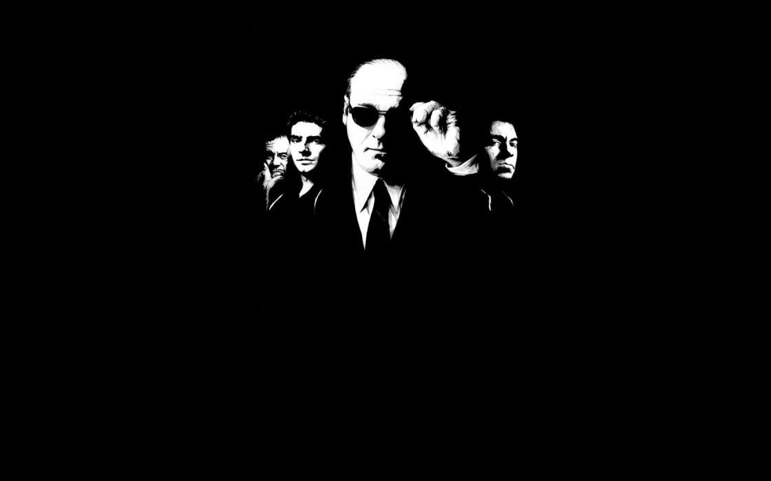 THE SOPRANOS crime drama mafia television hbo    g wallpaper