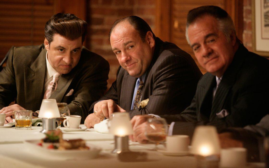 THE SOPRANOS crime drama mafia television hbo     tw wallpaper