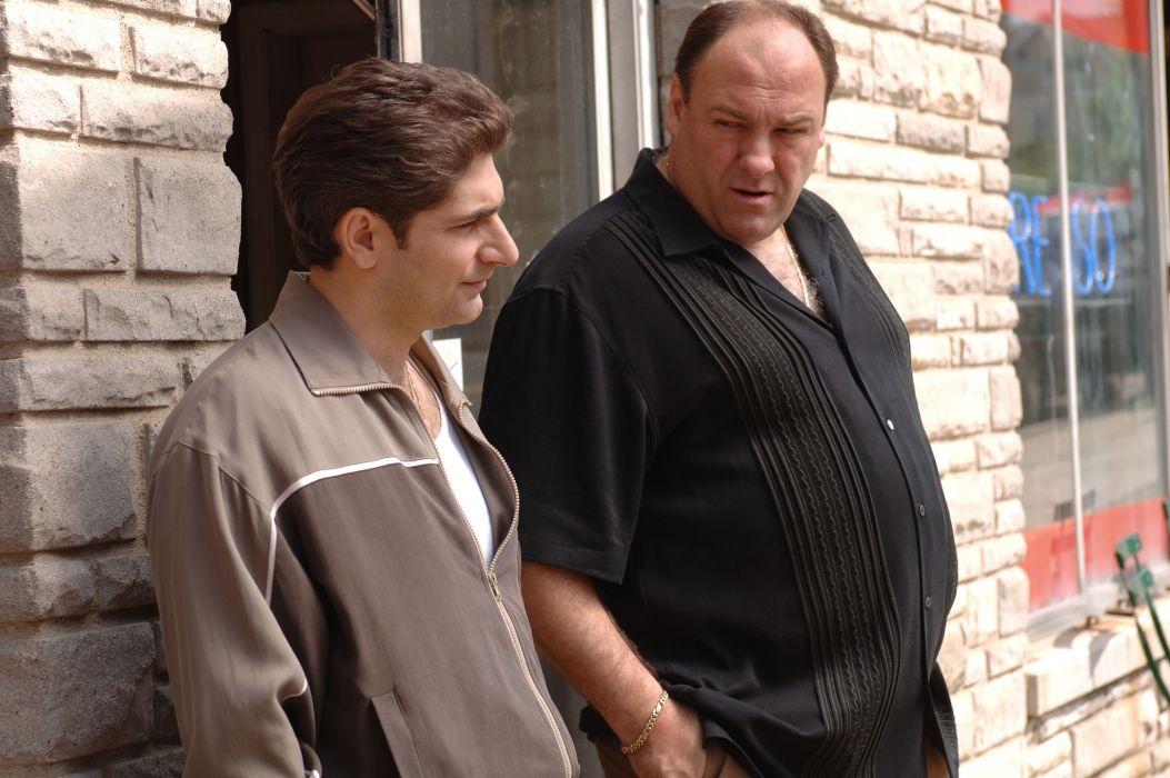 THE SOPRANOS crime drama mafia television hbo    t wallpaper