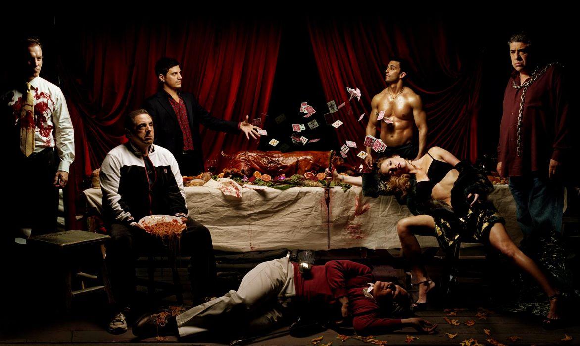 SOPRANOS crime drama mafia television hbo    rq (3) wallpaper