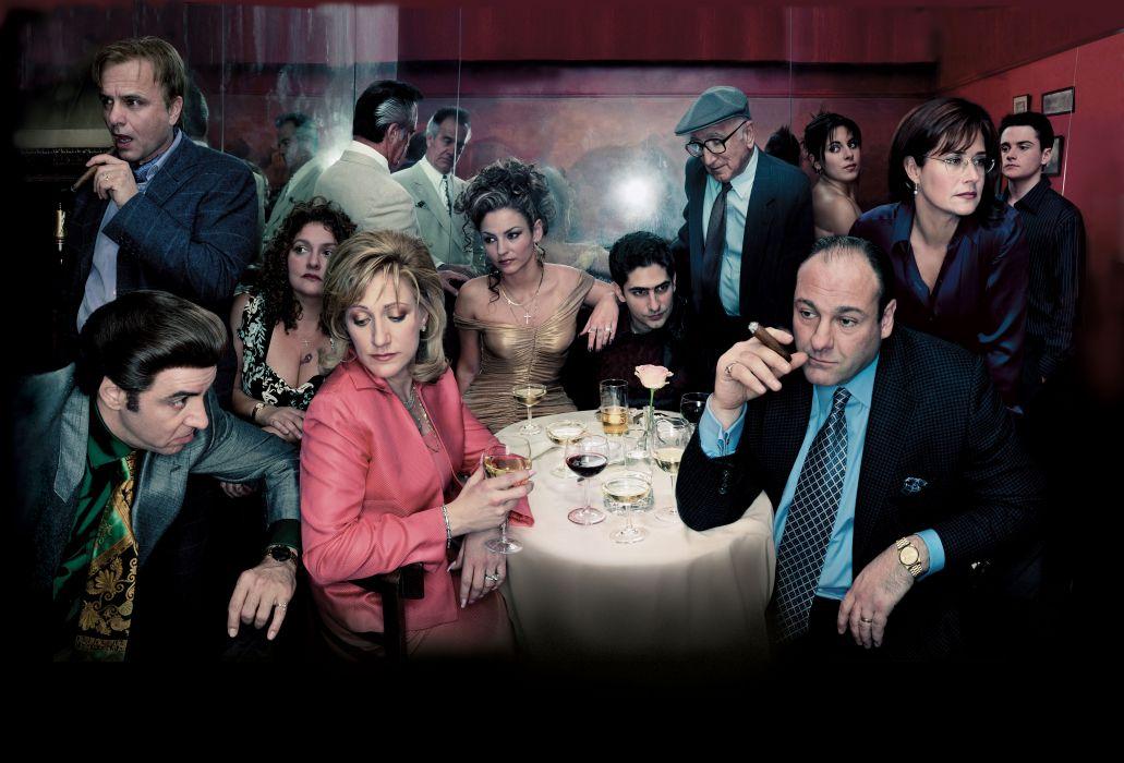 SOPRANOS crime drama mafia television hbo   g (8) wallpaper