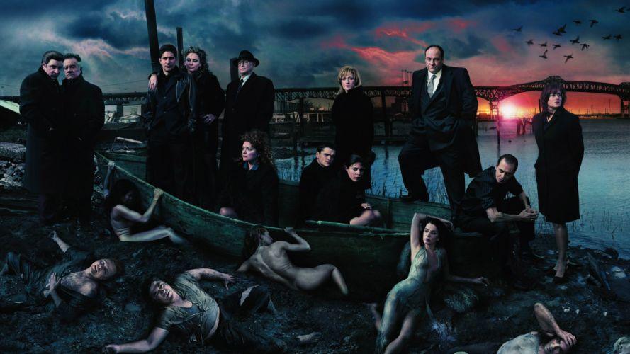 SOPRANOS crime drama mafia television hbo g (14) wallpaper