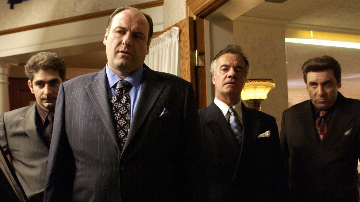SOPRANOS crime drama mafia television hbo   g (19) wallpaper