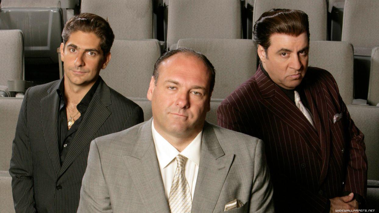 SOPRANOS crime drama mafia television hbo  ei (3) wallpaper