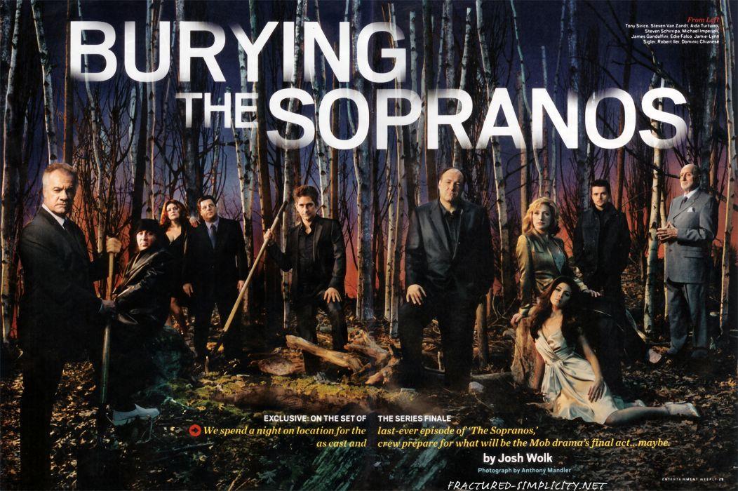 SOPRANOS crime drama mafia television hbo  rq (17) wallpaper