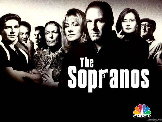 SOPRANOS crime drama mafia television hbo rq (21) wallpaper