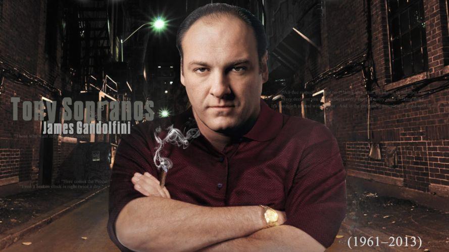 SOPRANOS crime drama mafia television hbo poster fw (2) wallpaper