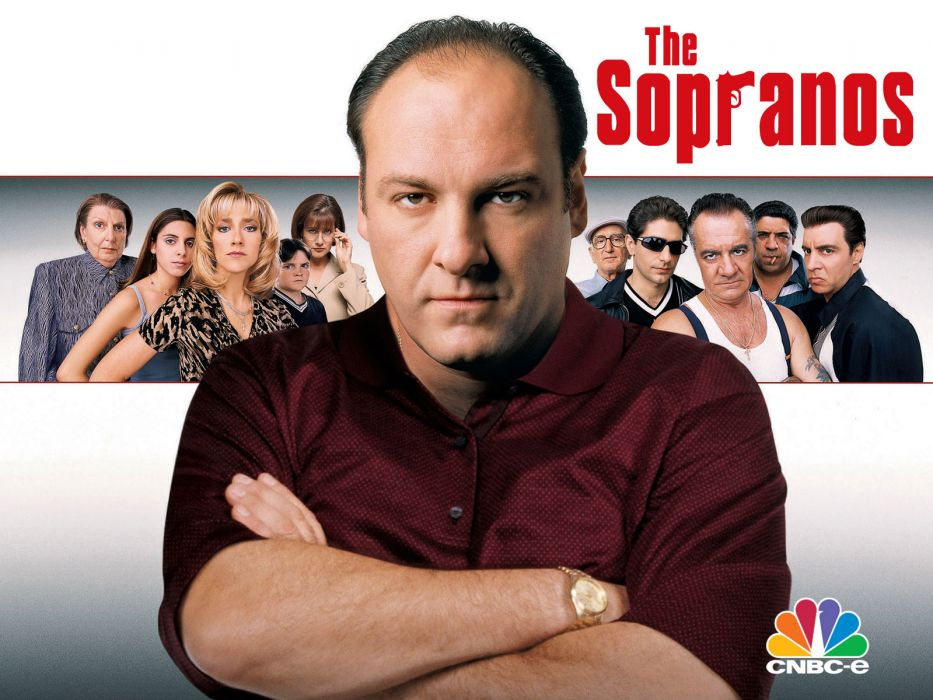 SOPRANOS crime drama mafia television hbo poster  fw (3) wallpaper