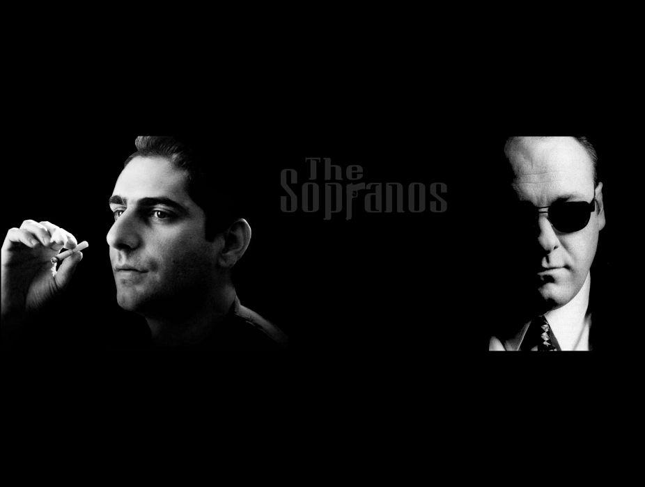 SOPRANOS crime drama mafia television hbo poster  fw (5) wallpaper