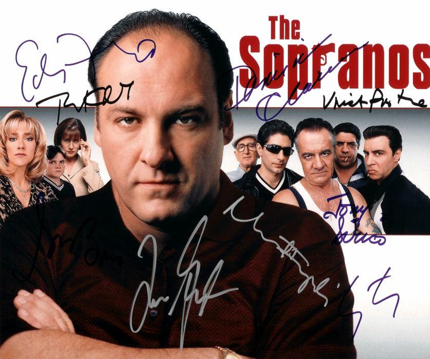 SOPRANOS crime drama mafia television hbo poster  fw (7) wallpaper