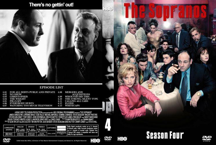 SOPRANOS crime drama mafia television hbo poster fw (8) wallpaper