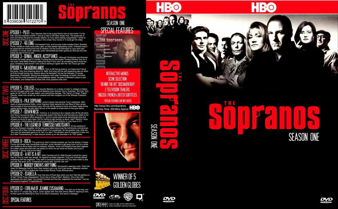 SOPRANOS crime drama mafia television hbo poster  fw (9) wallpaper