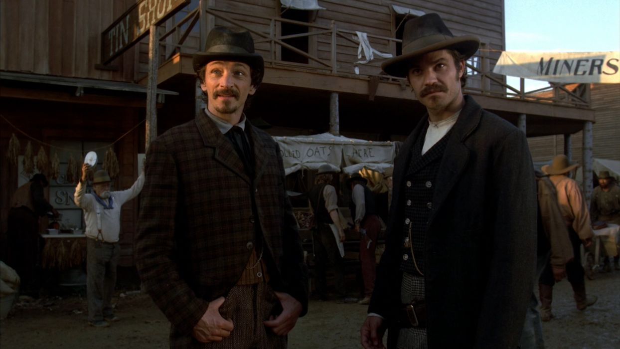 DEADWOOD hbo western drama television    hs wallpaper