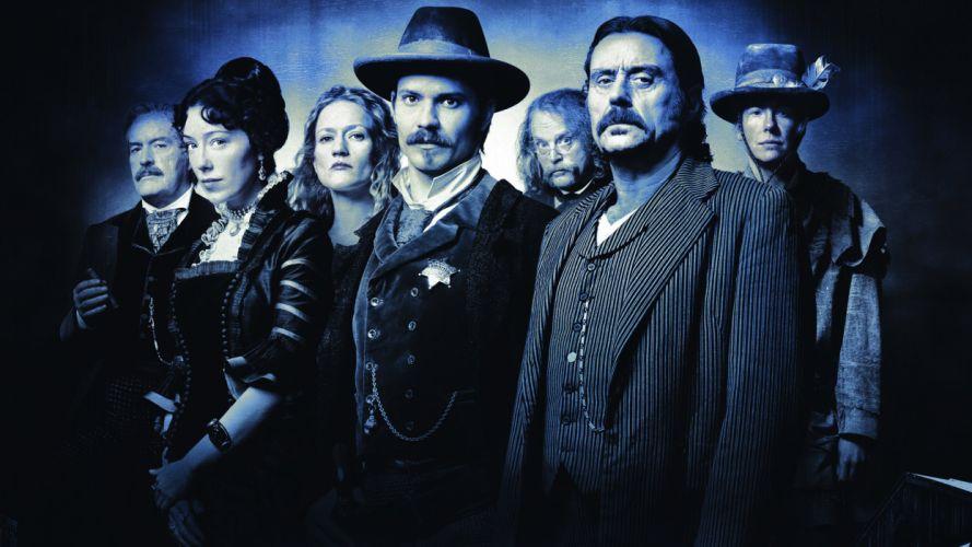 DEADWOOD hbo western drama television f wallpaper