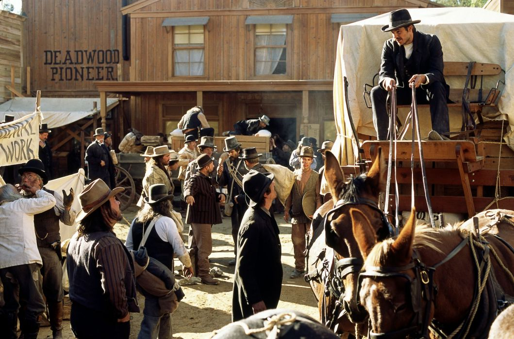 DEADWOOD hbo western drama television  l wallpaper