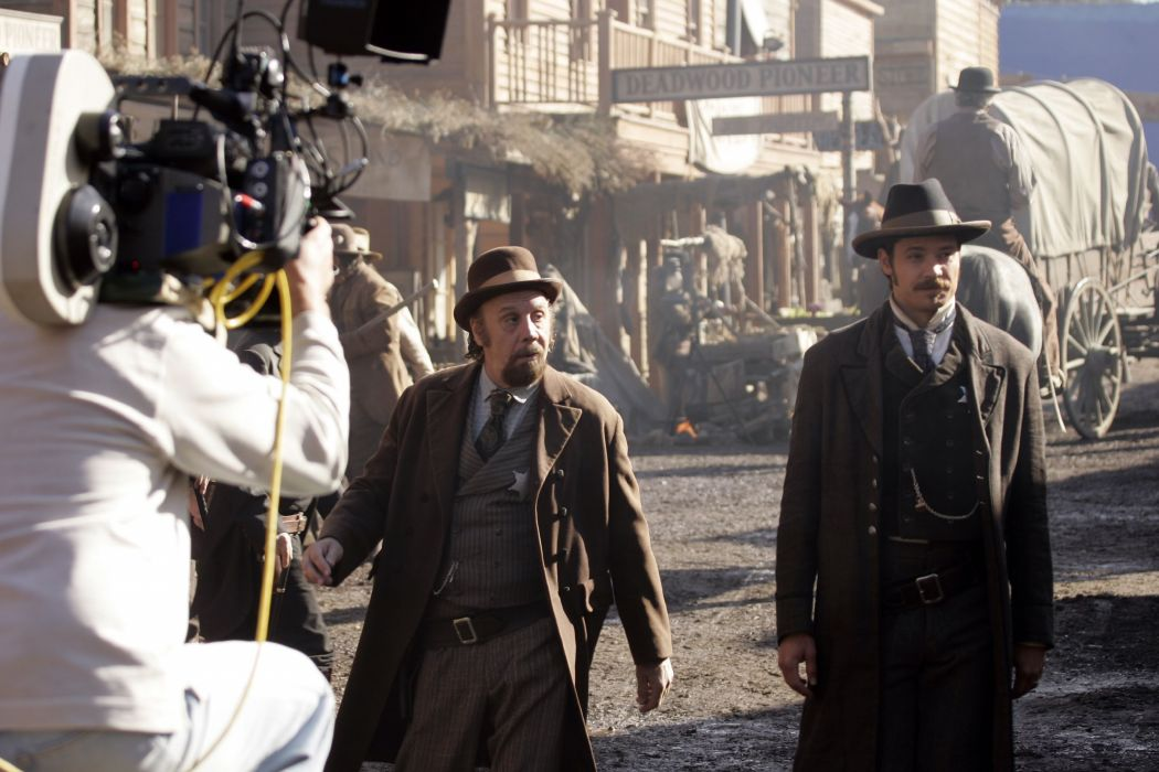 DEADWOOD hbo western drama television camera     g wallpaper