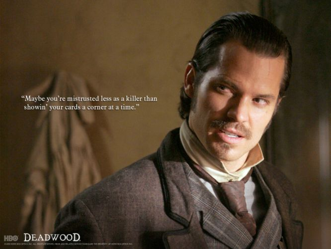 DEADWOOD hbo western drama television poster f wallpaper