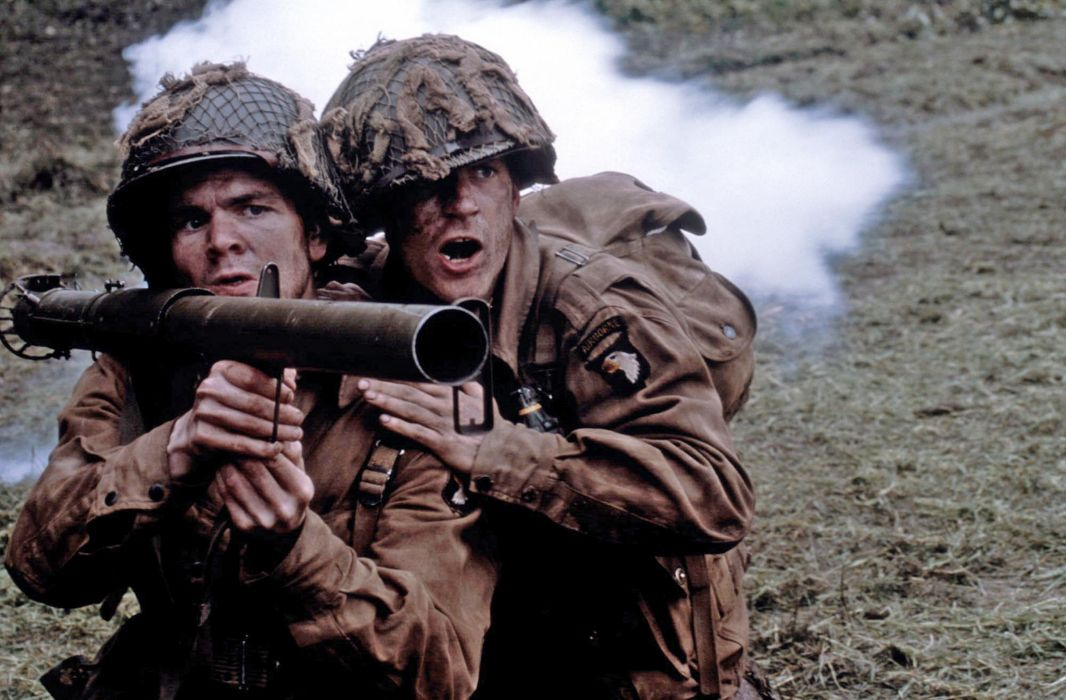 BAND-OF-BROTHERS war military action drama hbo band brothers soldier battle weapon      g wallpaper