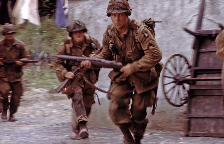 BAND-OF-BROTHERS war military action drama hbo band brothers soldier battle weapon gun h wallpaper
