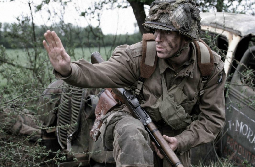 BAND-OF-BROTHERS war military action drama hbo band brothers soldier weapon gun      gs wallpaper