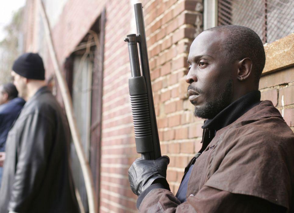 THE-WIRE hbo crime drama television gangster gangsta weapon gun        g_JPG wallpaper