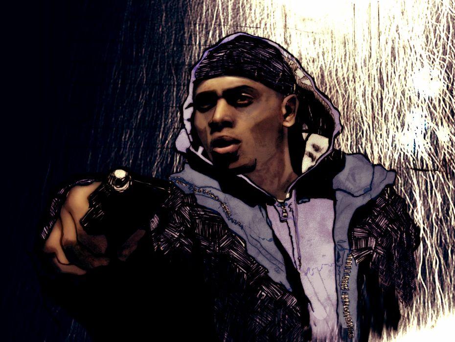 THE-WIRE hbo crime drama television gangster gangsta weapon gun pistol     g wallpaper