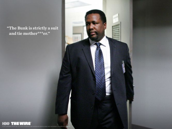 THE-WIRE hbo crime drama television gangster poster sadic h wallpaper