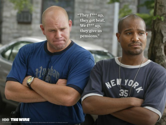 THE-WIRE hbo crime drama television poster sadic g wallpaper