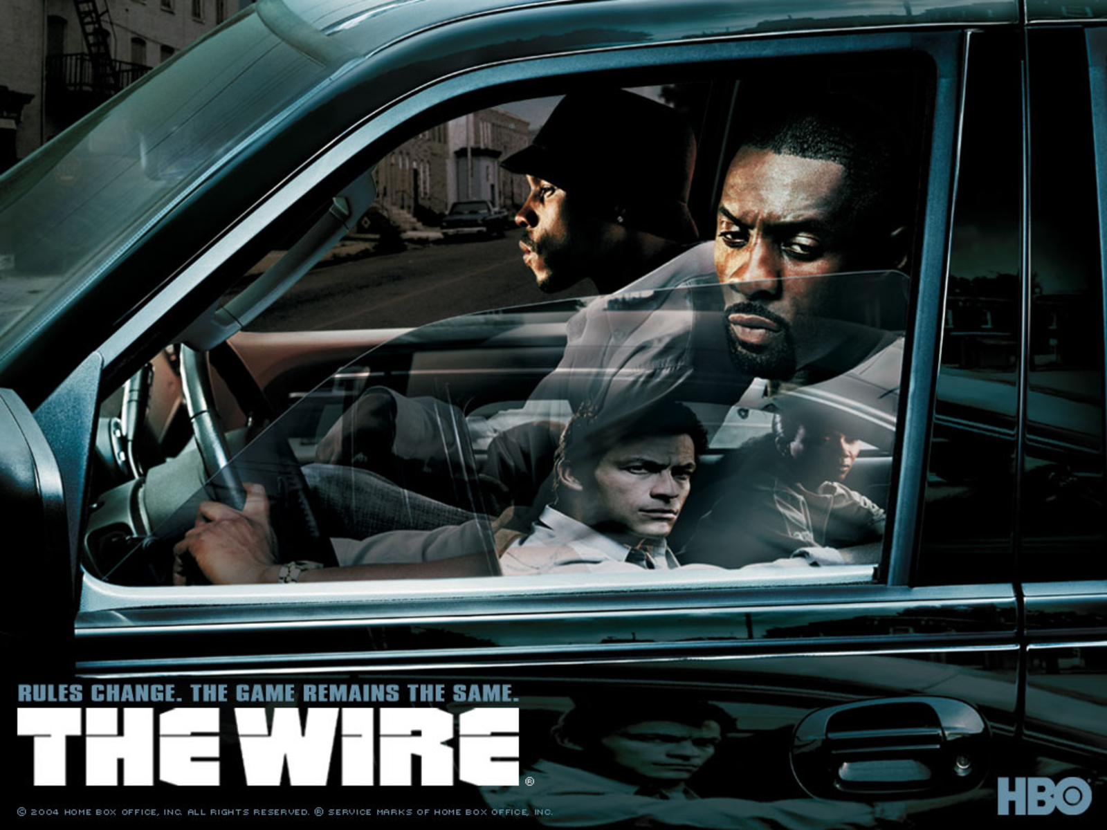 THE WIRE Crime Drama Hbo Wire Poster H Wallpaper