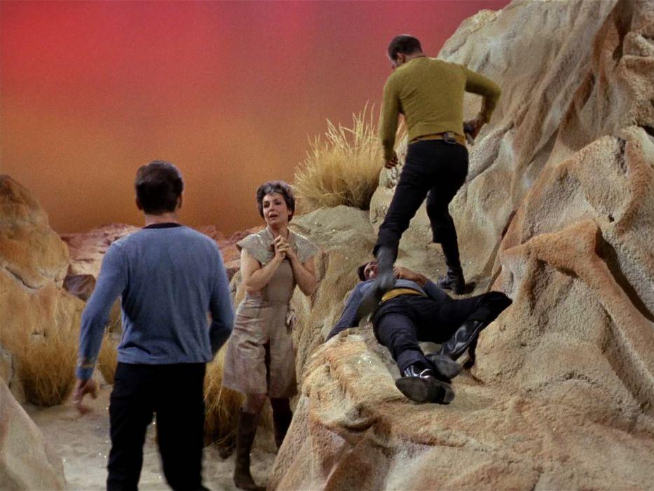 STAR TREK sci-fi action adventure television    qr wallpaper
