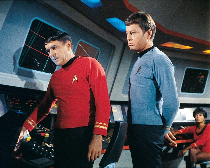STAR TREK sci-fi action adventure television    js wallpaper