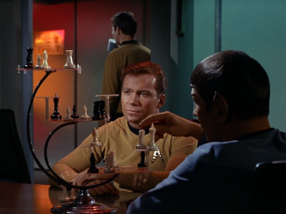 STAR TREK sci-fi action adventure television chess      g wallpaper