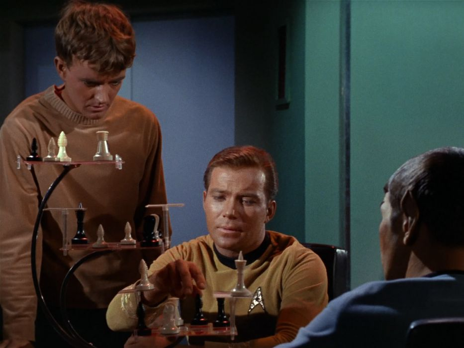 STAR TREK sci-fi action adventure television chess   h wallpaper