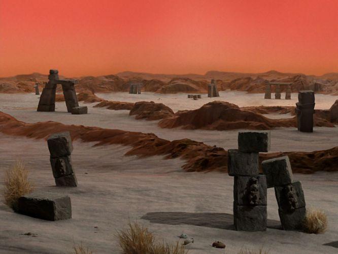 STAR TREK sci-fi action adventure television fantasy landscape planet f wallpaper